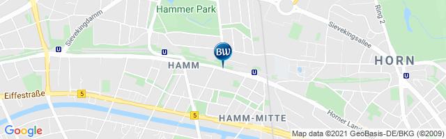 karte hotels hamburg Best Western Hotel Hamburg International   Zentrumsnah